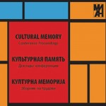 "Proceedings ""Cultural Memory"" vol. 1"